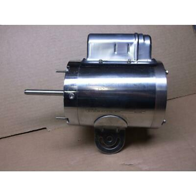 Dayton 1/3Hp Washdown Fan Motor, Single Shaft, 115/60/1 Rpm:1075/1-Speed