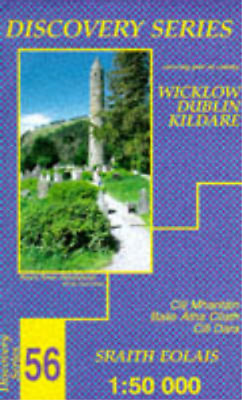 Irish Discovery Map 56 Wicklow, Dublin and Kildare, Ordnance Survey Ireland, Use