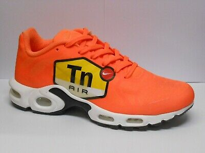 big sale 02830 f1674 Nike Air Max Plus NS GPX Noir Hommes Taille 6.5 Total Orange Runner  Chaussure