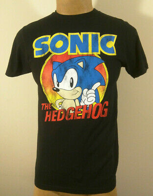 Sonic the Hedgehog Distressed Graphic T-Shirt