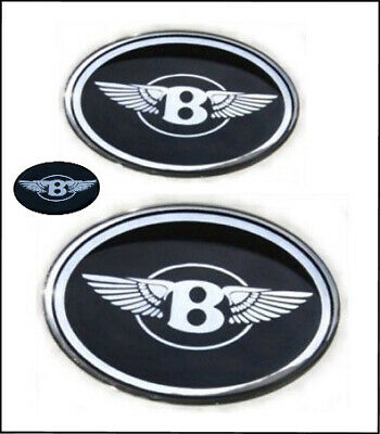 Chrysler 300 Bentley Grille B with wings emblems badges front/trunk/steering
