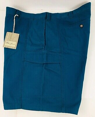 PALM BEACH 1922 Classic Fit Turquoise Men's SPORTS Shorts Color Green Size W 44
