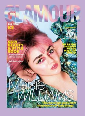 UK Glamour Magazine Spring/Summer 2019: MAISIE WILLIAMS COVER & FEATURE