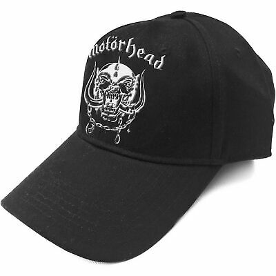Motorhead Baseball Cap Warpig Band Logo England new Official Black bf551b26bb6a