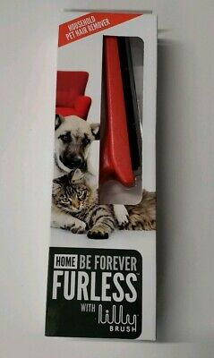 Lilly Angled Brush BE FOREVER FURLESS PET HAIR REMOVER - For Furniture, Bedding,