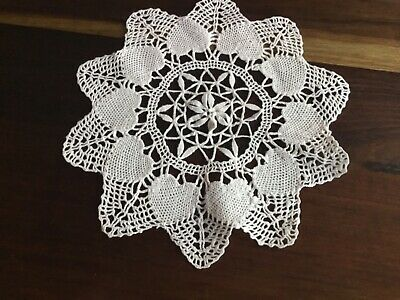 Vintage Cotton Crochet Doily