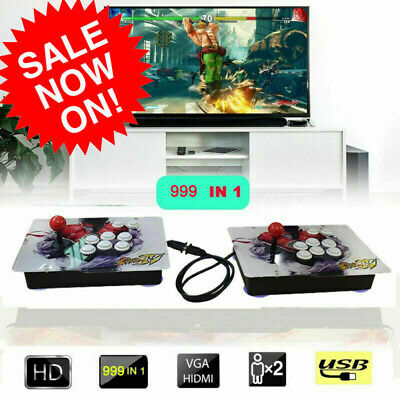 5S 999 IN 1 Home Retro Acrade Game Console Double Stick Joystick for PC and PS3