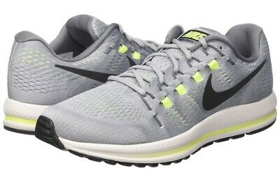 wholesale dealer 89b12 01329 NIKE Air Zoom Vomero 12 Mens Size 10 863762-002 Wolf Grey Black Platinum  Volt
