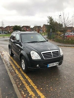 Ssangyong Rexton 270 S Auto '59' Plate