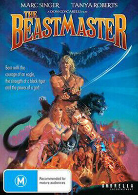 The Beastmaster NEW PAL Classic DVD Don Coscarelli Marc Singer Tanya Roberts