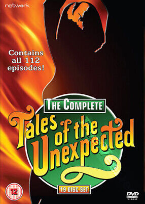 Tales of the Unexpected - Complete Series NEW PAL Cult 19-DVD Set John Gielgud