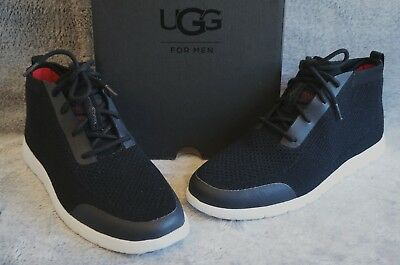 83a2f58bd10 UGG FREAMON HYPERWEAVE / HYPERWOOL BOOTS, Mens US 10, Color: BLACK ...