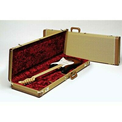 Fender Deluxe Tweed Stratocaster or Telecaster Electric Guitar Case
