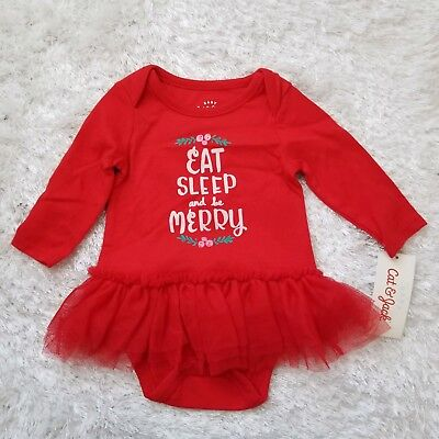 5bcc814e0292a NWT Baby Cat & Jack Wowzer Red one piece infant girl outfit 0-3 months