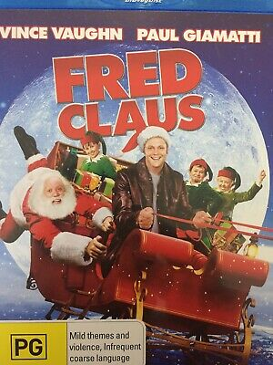 Fred Claus - Bluray 2007 As New!