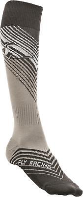 Fly Racing Mx Sock Thin Black/white S/m 350-0430S