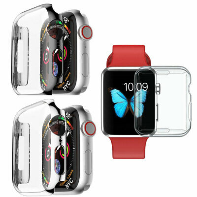 CUSTODIA COVER RIGIDA BRILLANTINI mascherina per Apple Watch serie