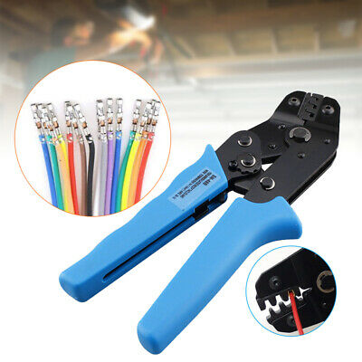 0.5-1.5mm Crimping Plier Non-Insulated Terminal Pin Connector Crimper Tools UK