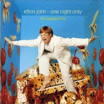 Elton John - One Night Only: The Greatest Hits CD NEW
