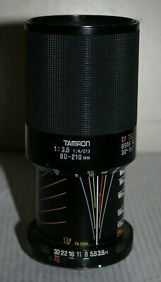 Tamron Adaptall - Macro Zoom Lens 80 - 210mm 1:3.8 - 4.For Adaptall Mount