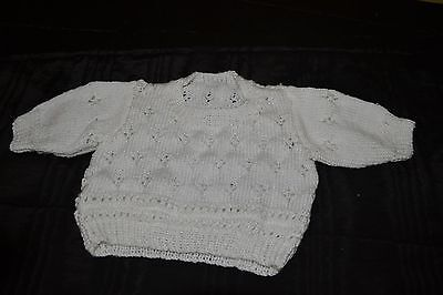 Hand Knitted Toddler Jumper size 18 months