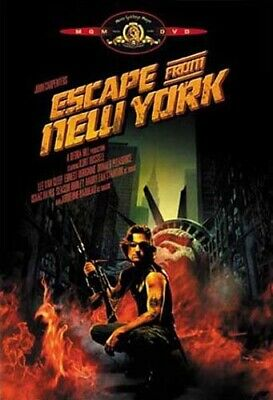 Escape From New York *new Dvd Free Shipping*******