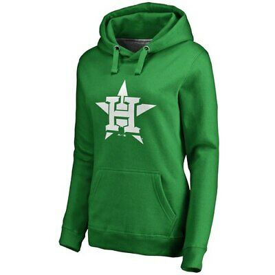 cefd9d12 Majestic Houston Astros Women's Kelly Green St. Patrick's Day White Logo