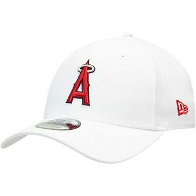 2e52d28375aae NEW ERA LOS Angeles Angels White League 9FORTY Adjustable Hat ...