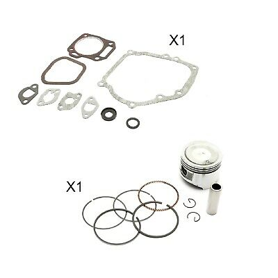 Non Genuine Piston Kit + Gasket Set + Fits Honda GX200 GoKarts