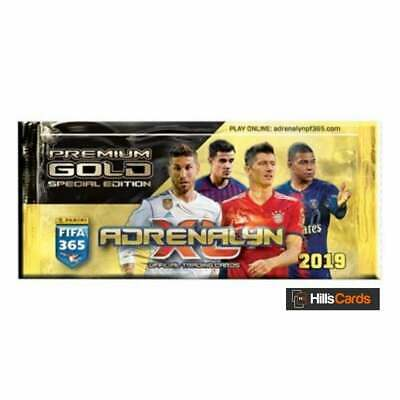 Adrenalyn XL Fifa 365 2019 - Premium Gold Special Edition Pack - Panini Cards