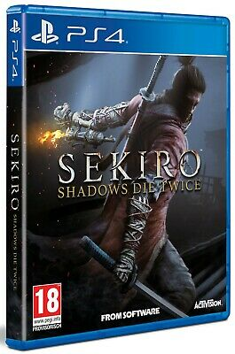 Sekiro Shadows Die Twice NEU&OVP -Deutsch- (PS4)