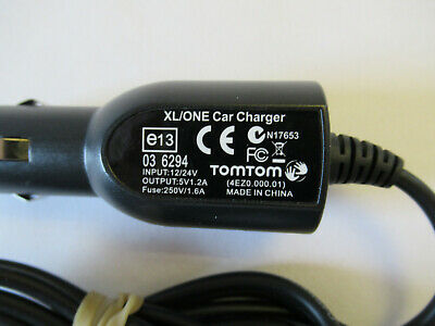 TomTom XL-One Carcharger E13 Genuine