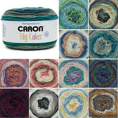 Caron Big Cakes Aran Yarn Knitting Crochet Crafts 300g Ball