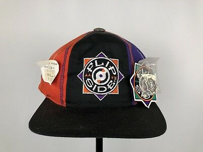 96411ba36be0c4 Vintage Starter Flip Side Snapback Hat Color Block New W Tags 90s Jazzy Jeff