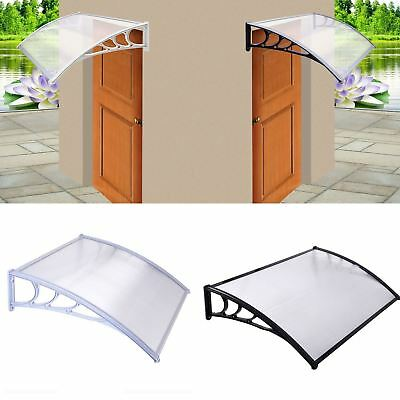 Outdoor Porch Door Canopy Awning Shelter Front Back Shade Shed Patio Roof New