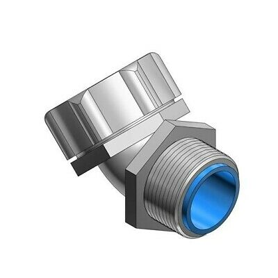 Thomas and Betts Shureseal T&B 9340 3/8 Inch 16mm 45 Degree Fluidtight Connector
