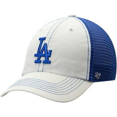 new concept ee020 56846  47 Los Angeles Dodgers Gray Trawler Clean Up Trucker Hat.