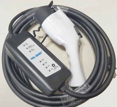 EV Charger Cable with Control Box,NEMA 6-20 Plug,SAE J1772 (Type 1), 6~16A/240V