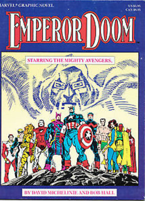 EMPEROR DOOM (1987) SOFT COVER Back Issue