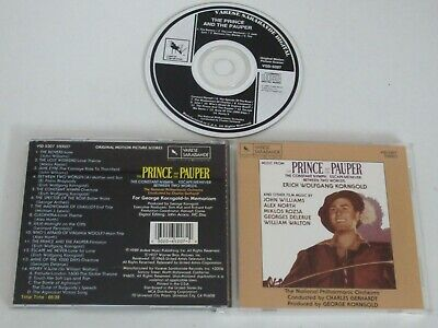 The Prince And The Pauper/Soundtrack/Korngold/Williams/North(Varese) Cd Album