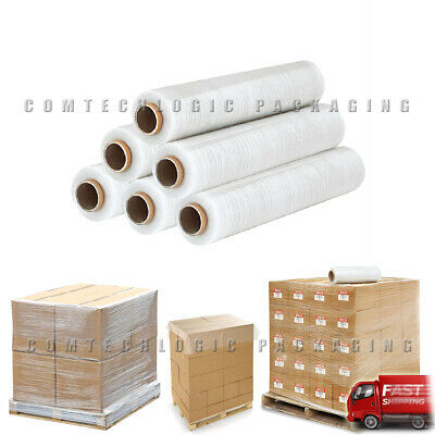 200m Clear Standard Core Stretch Shrink Roll Cling Film Packaging Pallet Wrap