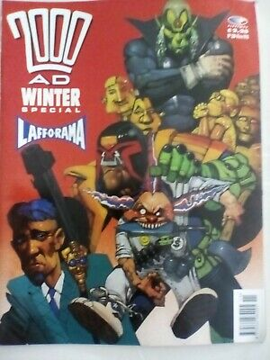 2000ad Winter Special #3 - 1990 - VERY FINE CONDITION - FIRST PRINTING