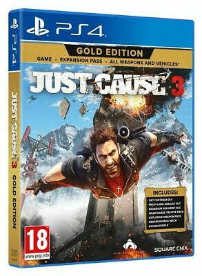 Just Cause 3 Gold Edition Ps4 Videogioco Italiano Gioco Play Station 4 Nuovo