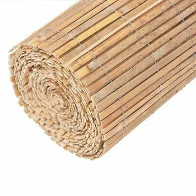 Bamboo Slatted Fence Screening Roll Privacy Garden Fence Roll Screen Panel Fence