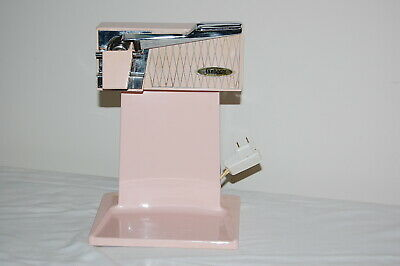Vintage Retro Pink Sunbeam Electric Can Opener Mid Century