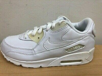 NEW NIKE AIR Max Tiny 90 Youth Sz 3 Shoes Platinum Grey