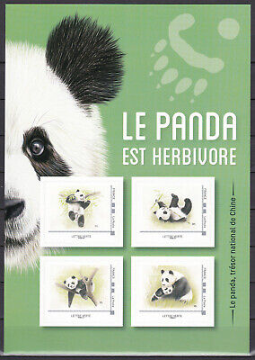 """FRANCE 2019 Collector Adhesive """" Panda """" MNH** Luxe"""
