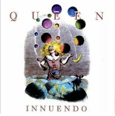 QUEEN Innuendo LTD EDITION REMASTERED EXPANDED DELUXE 2 CD Freddie Mercury USA