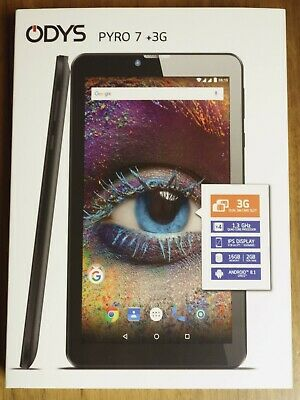 """ODYS PYRO 7 +3G (7"""" Tablet mit Android 8.1)"""