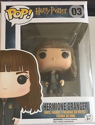 Funko Pop Harry Potter: Hermione Granger Vinyl Figure #03 NEW